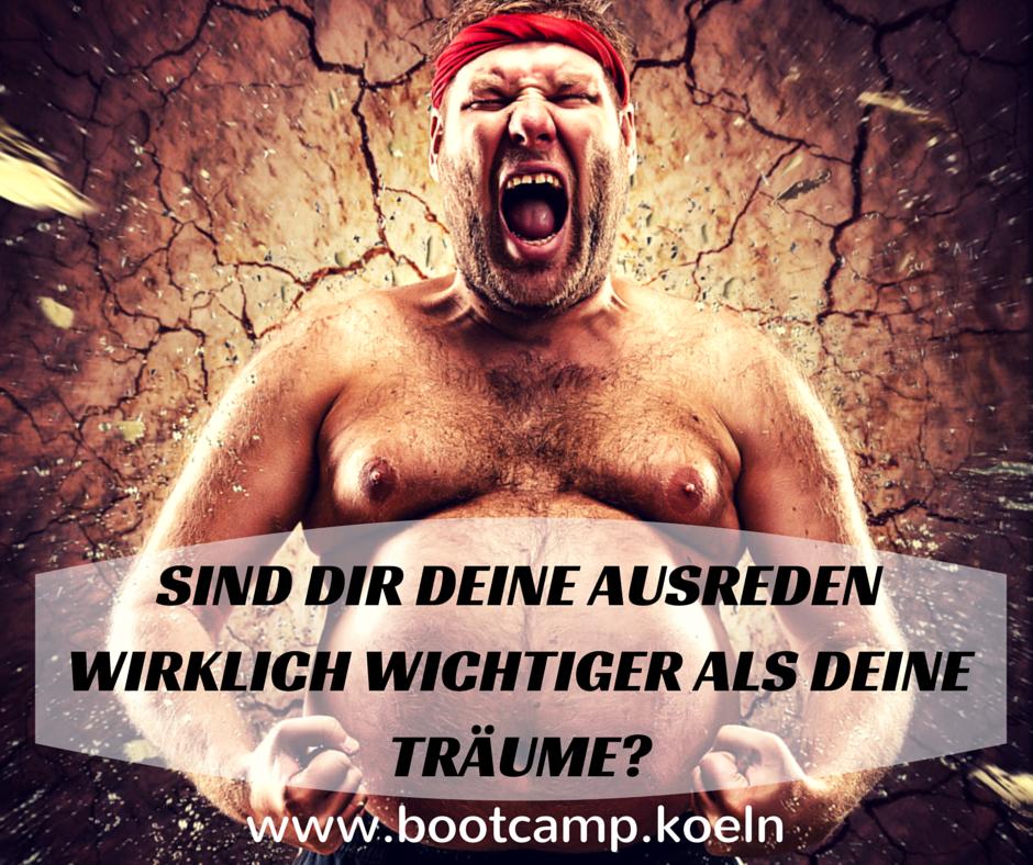 keine Ausreden mehr - Bootcamp Köln