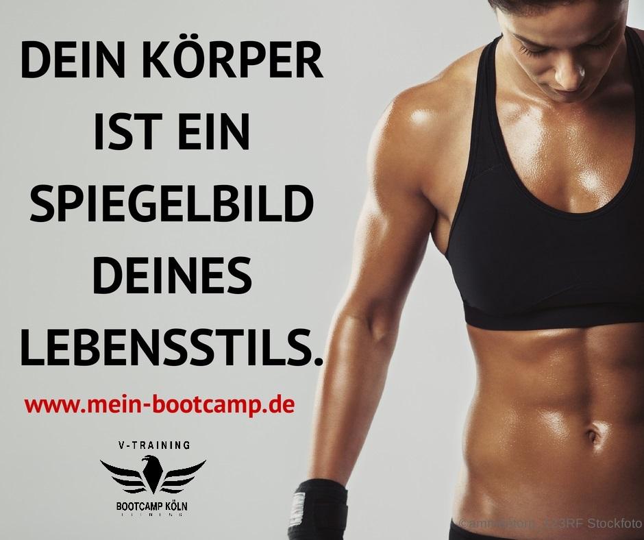Bootcamp Köln - Dein Körper wird es dir Danken