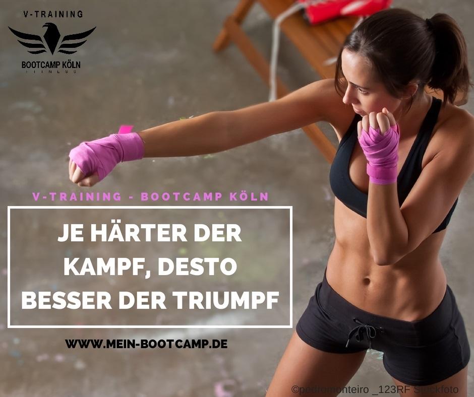 Bootcamp Köln - Je härter der Kampf
