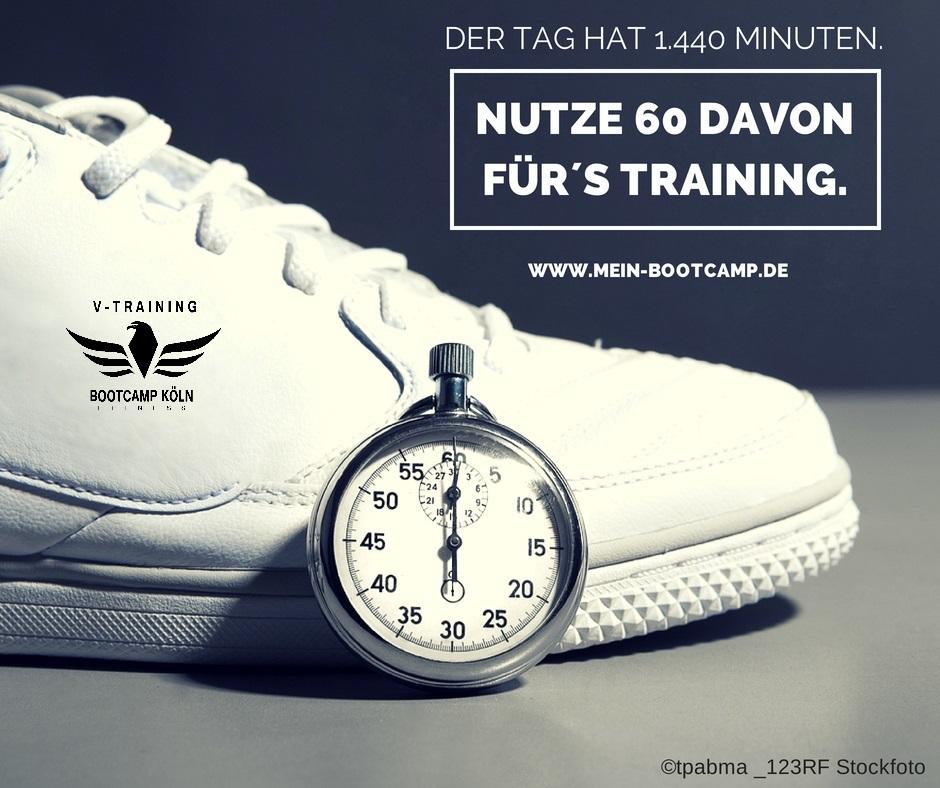 Bootcamp Köln - Nutze den Tag fürs Training