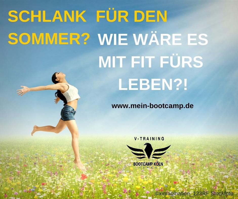 Bootcamp Köln - Schlank für den Sommer