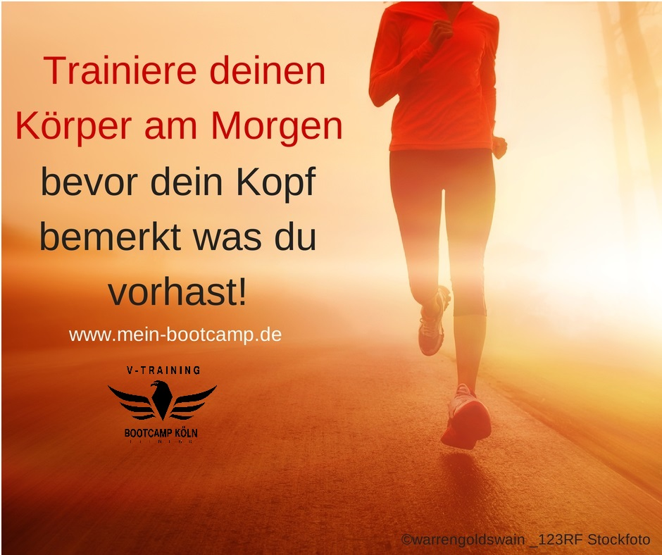 Bootcamp Köln - Training am Morgen