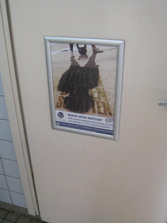 Bootcamp Köln Plakat - Spring über deinen Schatten (2)