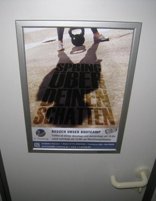 Bootcamp Köln Plakat - Spring über deinen Schatten (5)